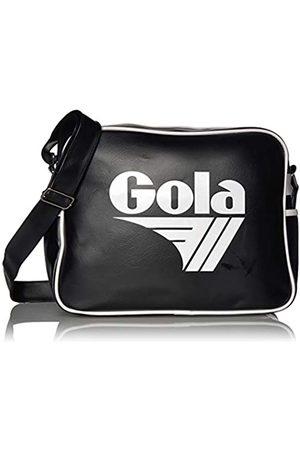 Gola Gola Redford CUB901 Unisex - Erwachsene Henkeltaschen, Schwarz (Black/White)
