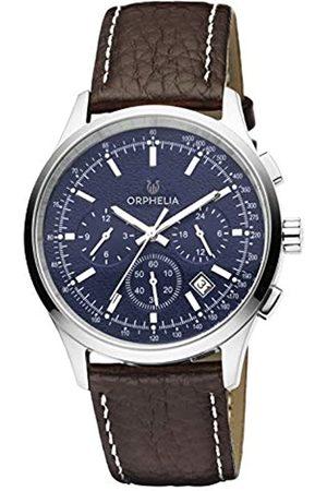 ORPHELIA Orphelia Herren-Armbanduhr 24h Dual Time Quarz Leder