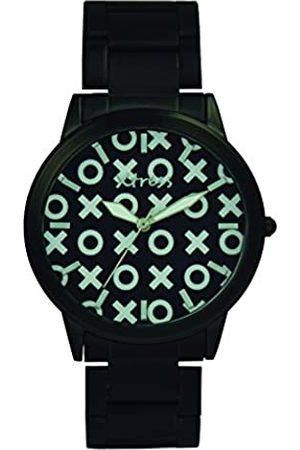XTRESS XTRESS Herren Analog Quarz Uhr mit Edelstahl Armband XNA1034-57