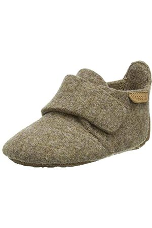 Bisgaard Bisgaard Baby Mädchen Wool Hausschuhe, Braun (Camel 46)