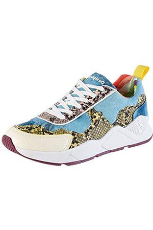 Desigual Damen Shoes Hydra HYBRID Sneaker, (Jeans 5006)