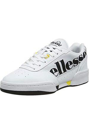 Ellesse Damen Piacentino Sneaker, (White/Black/YLW Wht/Blk/YLW)