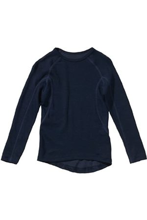 Schiesser Schiesser Jungen Shirt 1/1 Unterhemd, Blau (803-dunkelblau)