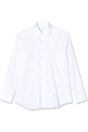 Seidensticker Herren Business Hemd Slim Fit – Bügelleichtes Businesshemd