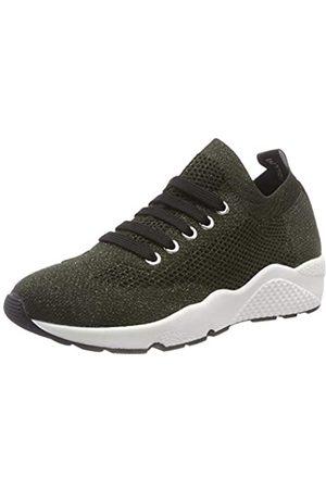 Pollini Damen Runmesh Sneaker, (Military Green 852)