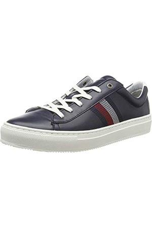 Tommy Hilfiger Tommy Hilfiger Herren CLEAN Premium Corporate Cupsole Sneaker, Blau (Midnight 403)