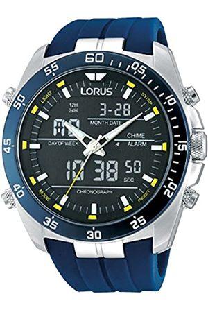Lorus Lorus Watches Herrenuhr Analog-Digital Quarz mit Kautschukarmband – RW617AX9