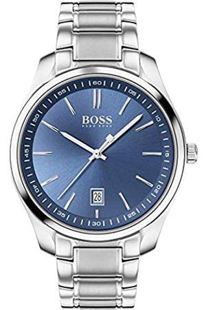 HUGO BOSS Hugo Boss Herren Analog Quartz Uhr mit Edelstahl Armband 1513731