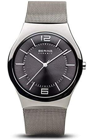 Bering BERING Herren Analog Quarz Uhr mit Edelstahl Armband 32039-309