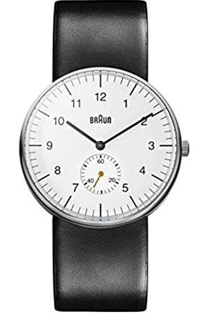 von Braun Braun Herren Analog Quarz Armbanduhr BN0024WHBKG