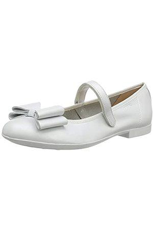 Geox Geox Mädchen JR PLIE' B Geschlossene Ballerinas, Weiß (White C1000)
