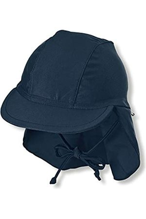 Sterntaler Kinder Schirmmütze mit Nackenschutz, UV-Schutz 50+, Alter: 5 - 6 Monate, Größe: 43
