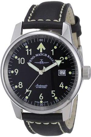 Zeno Zeno Watch Basel Unisex-Armbanduhr Classic Pilot Analog Automatik Leder 6554RA-a1