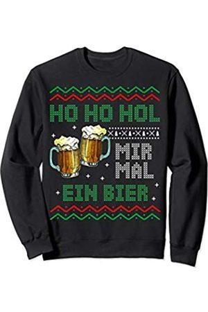 Ugly Weihnachtspullover Weihnachts Geschenke Co. Ugly Christmas Sweater Herren Lustig Bier Weihnachten Sweatshirt