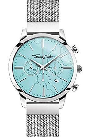 Thomas Sabo Thomas Sabo Unisex Analog Quarz Uhr mit Edelstahl Armband WA0366-201-215-42 mm