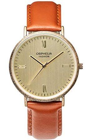 ORPHELIA Orphelia Fashion Herren Analog Quartz Uhr Alium mit Leder Armband