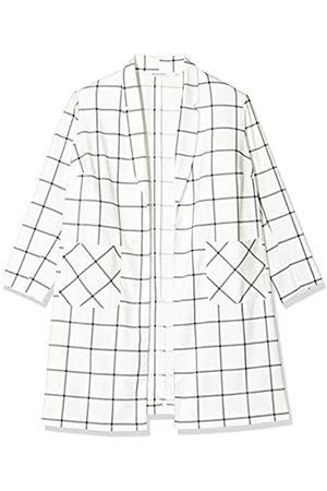 Simply Be Damen Ladies Check Print Duster Jacket Jacke