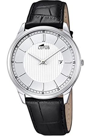 Lotus Lotus Herren Analog Quarz Uhr mit Echtes Leder Armband 10124/2