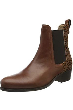 Joules Tom Joule Damen Stamford Chelsea Boots, (Ocelot Ocelot)