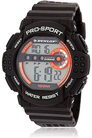 Dunlop Dunlop Unisex Erwachsene Digital Quarz Uhr mit Gummi Armband DUN208G08