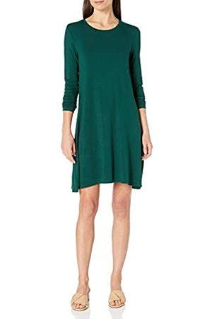 Amazon Long-Sleeve Crewneck Swing dresses