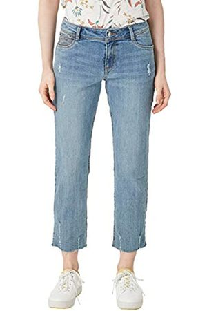 s.Oliver S.Oliver RED LABEL Damen Cropped Straight: Used Denim blue denim stretch 36