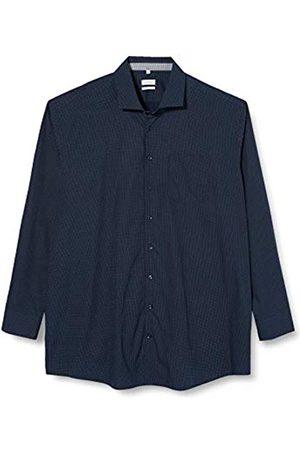 Seidensticker Seidensticker Herren Gepunktetes Hemd Mit Kent-Kragen Und Einem Hohen Regular Fit – Langarm Businesshemd