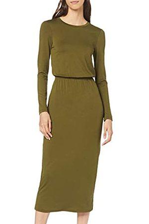 FIND Find. Elastic Waist Jersey Maxi Dress freizeitkleid damen