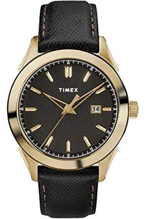 Timex Timex Herren Analog Quarz Uhr mit Leder Armband TW2R90400