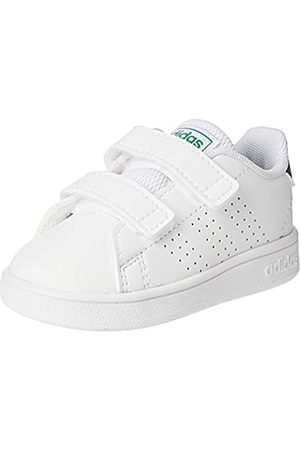 adidas Adidas Unisex Baby Advantage I Hausschuhe, Mehrfarbig (Ftwbla/Brown/Gridos 000)