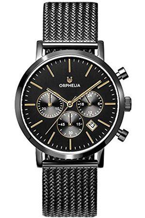 ORPHELIA ORPHELIA Herren Chronograph Quarz Uhr mit Edelstahl Armband OR82801