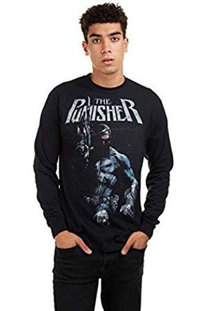 Marvel Marvel Herren Punisher Stance Long Sleeve Tee T-Shirt