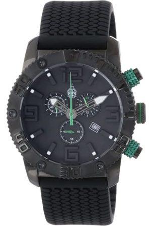 Burgmeister Burgmeister Herren-Armbanduhr XL Black Chrono Silikon BM521-622C