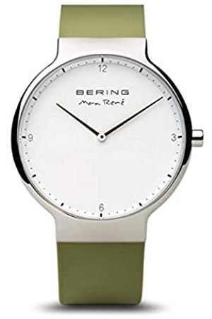 Bering BERING Herren-Armbanduhr Analog Quarz Silikon 15540-800