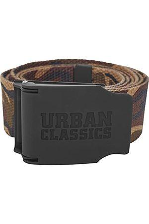 Urban classics Urban Classics Unisex Woven Rubbered Touch UC Gürtel