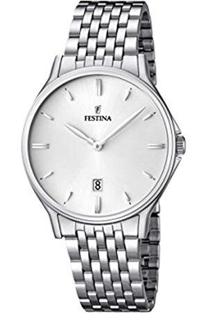 Festina Festina Herren Analog Quarz Uhr mit Edelstahl Armband F16744/2