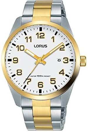 Lorus Lorus Herren Analog Quarz Uhr mit Edelstahl Armband RH972JX9