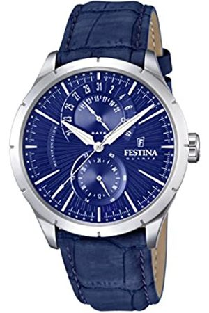 Festina Festina Herren-Armbanduhr Analog Quarz Leder F16573-7