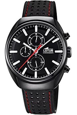 Lotus Lotus Watches Herren Chronograph Quarz Uhr mit Leder Armband 18567/6