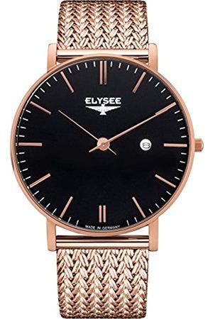 ELYSEE Elysee Herren Armbanduhr Zelos mit hochwertigem Leder- oder Meshband