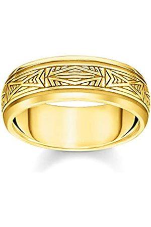 Thomas Sabo Thomas Sabo Unisex-Ring Ornamente 925 Sterlingsilber gelbgold vergoldet TR2277-413-39-64