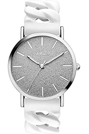 s.Oliver S.Oliver Time Unisex Erwachsene-Armbanduhr SO-3397-PQ