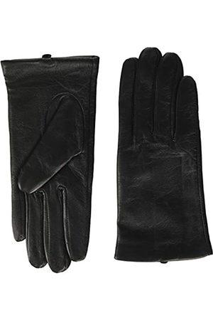 Benetton Damen Guanto Pelle Guanti Handschuhe