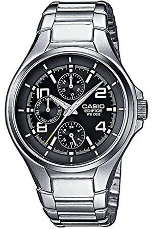 Casio Casio Edifice Herren Massives Edelstahlgehäuse und Edelstahlarmband Uhrenarmband EF-316D-1AVEF