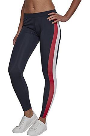 Urban classics Urban Classics Damen Side Stripe Leggings, per pack Mehrfarbig (Nvy/Red/Wht 00858)