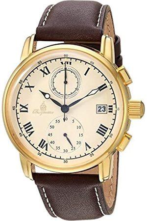 Burgmeister Burgmeister Herren Chronograph Quarz Uhr mit Leder Armband BM334-295