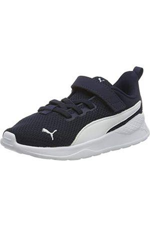Puma Puma Unisex Baby Anzarun Lite Ac Inf Sneaker, Blau (Peacoat White)