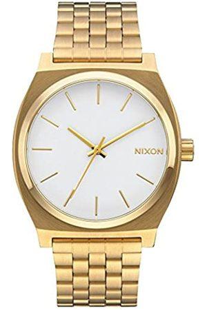 Nixon Nixon Herren Analog Quarz Uhr mit Edelstahl Armband A045508-00