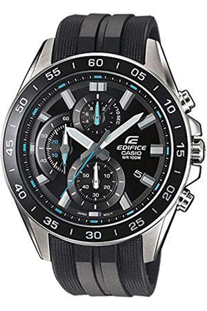 Casio Casio Edifice Herren Massives Edelstahlgehäuse und Resinarmband Uhrenarmband EFV-550P-1AVUEF
