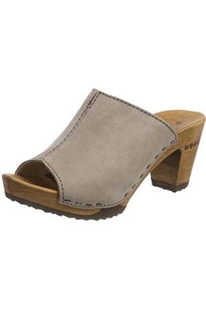 Woody Woody Damen Elly Clogs, Grau (Stone)